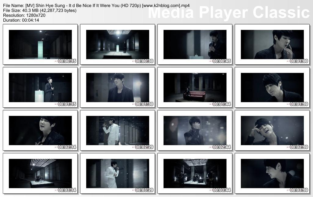 [MV] Shin Hye Sung - It'd Be Nice If It Were You (HD 720p Youtube)