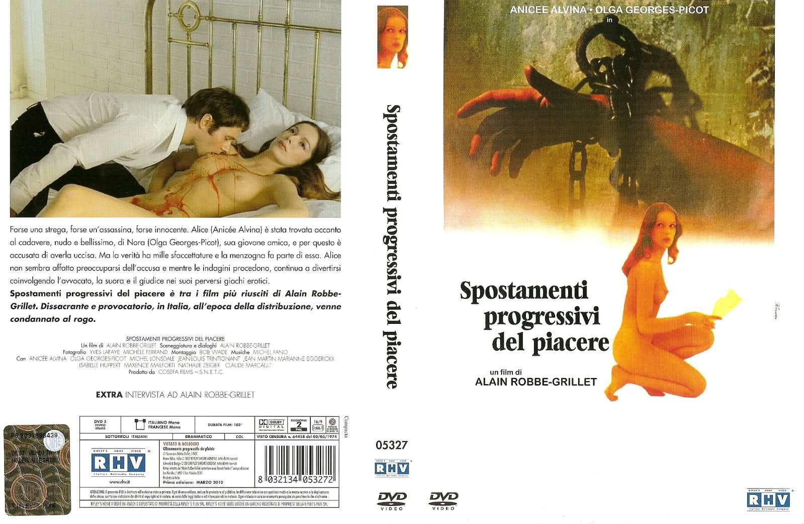 2mi5hdw Alain Robbe Grillet   Glissements Progressifs Du Plaisir AKA Successive Slidings of Pleasure (1974)