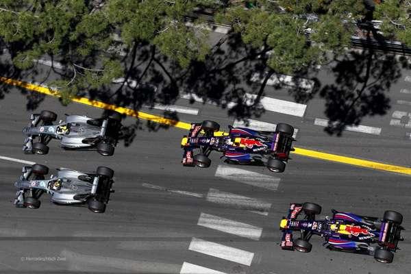 2013 Монако. Старт гонки