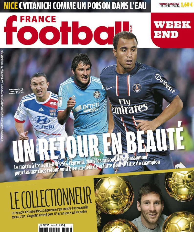 France Football Week-end - 11 Janvier 2013