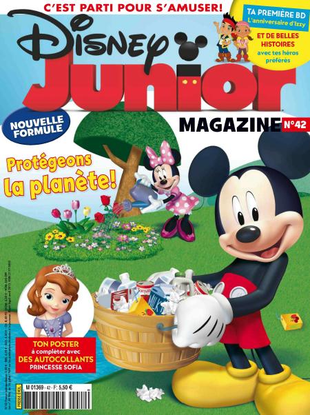 Disney Junior Magazine N°42 Avril 2013