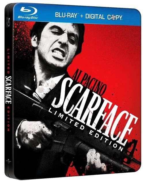 mogus su randu | Scarface | 1983 BDRip XviD AC3 LT EN | Kriminalinis, Drama, Trileris