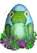 Bernard the Easter Frog