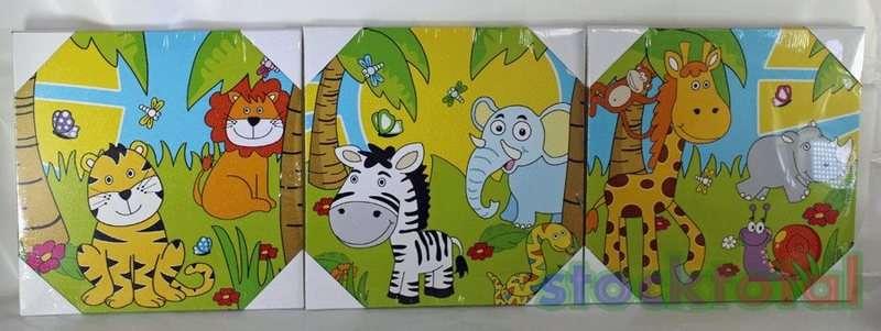 Cuadros infantiles de animales de la selva - Imagui